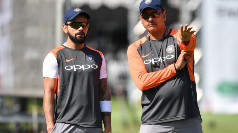 On Thursday, Shastri said he was not averse to the idea of playing practice games. (Photo: AFP)