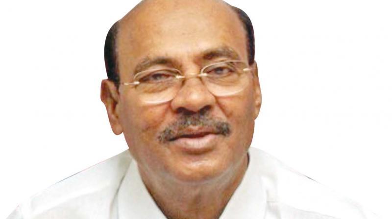 PMK founder S.Ramadoss