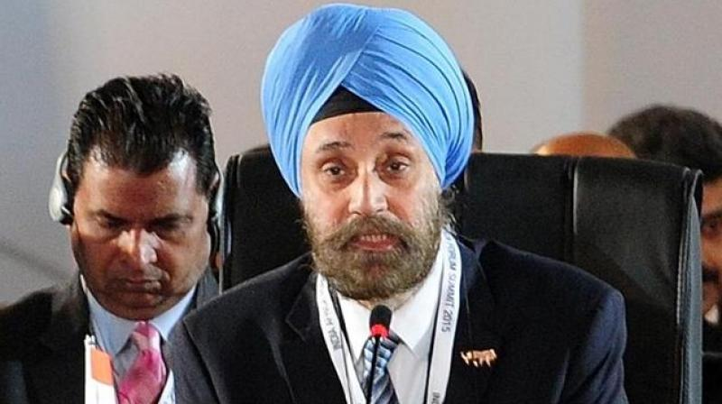 A 1980 batch Indian Foreign Service officer, Sarna arrived in the US a few days before the November 8 presidential elections. (Photo: AFP)