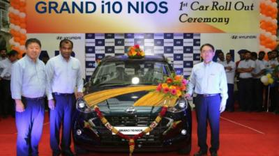 Pre-bookings already underway as first model rolls off the production line in Chennai.