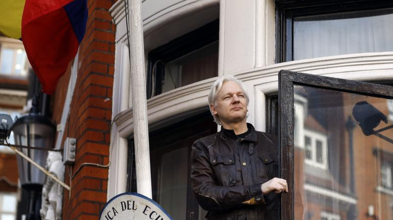 Assange was arrested at the Ecuador embassy in London after Quito withdrew his asylum. (Photo:AP)