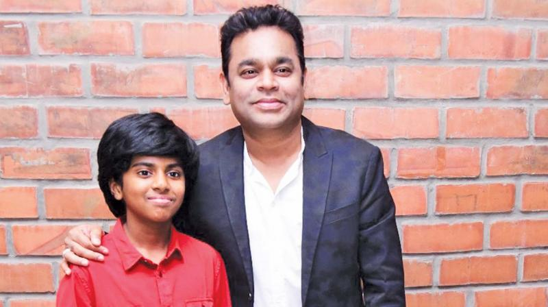 Lydian and A.R. Rahman