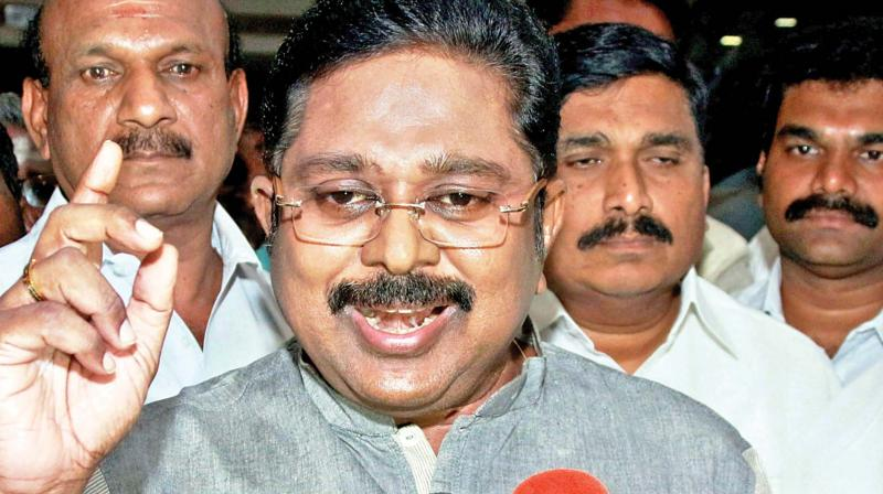 In an apparent reference toDhinakaran, the AIADMK dubbed him an 'overnight' leader rejected by the people. (Photo: File | AP)