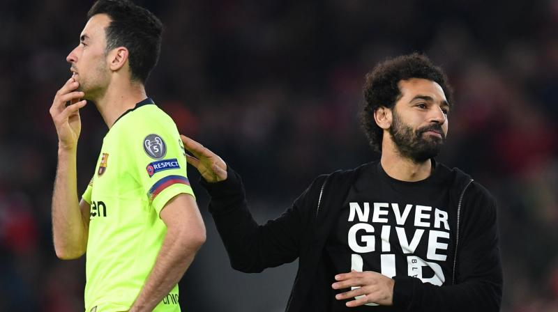 Barca looked on course to reach the final for the first time since 2015 after Lionel Messi inspired them to a 3-0 win in the first leg but they were overwhelmed by Liverpool's pressure in the second leg. (Photo: AFP)