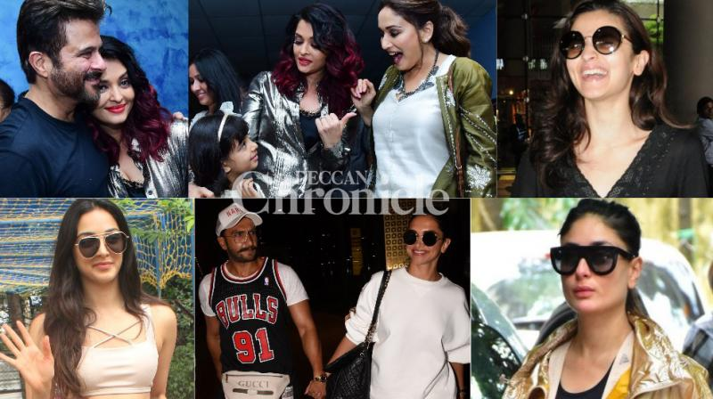 Bollywood stars made it to paparazzi diaries as they stepped out in Mumbai city on Thursday. (Photos: Viral Bhayani)