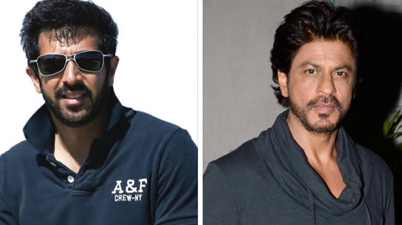 Kabir Khan and shah Rukh Khan.