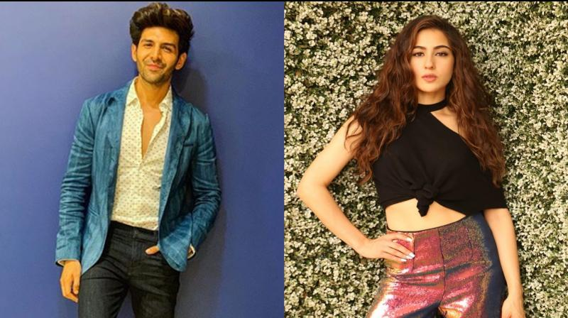Kartik Aaryan caught kissing Sara Ali Khan for Love Aaj Kal 2
