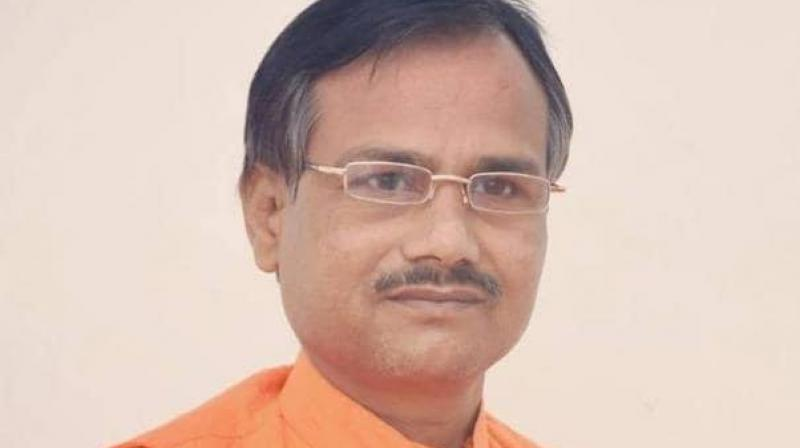 Tiwari (45), who headed HSP, was killed at his home in Naka Hindola area in Lucknow on October 18. He was earlier associated with a faction of the Hindu Mahasabha. (Photo: File)