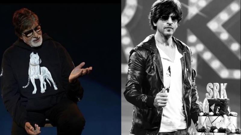 Amitabh Bachchan and Shah Rukh Khan. (Image Courtesy: Instagram)
