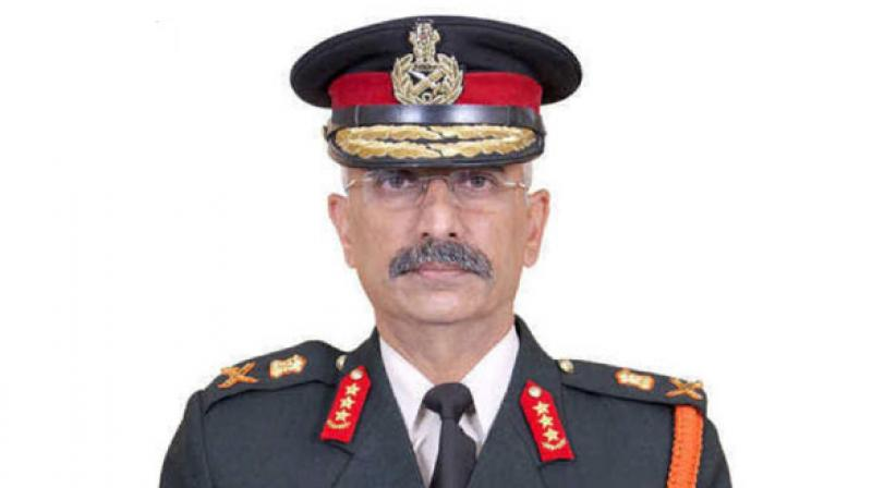 'Eastern Army Commander Lt General MM Narawane is set to take over as the Vice Chief of Army Staff to replace incumbent Lt Gen Devraj Anbu who is due to retire on August 31,' senior Army sources said. (Photo: ANI)