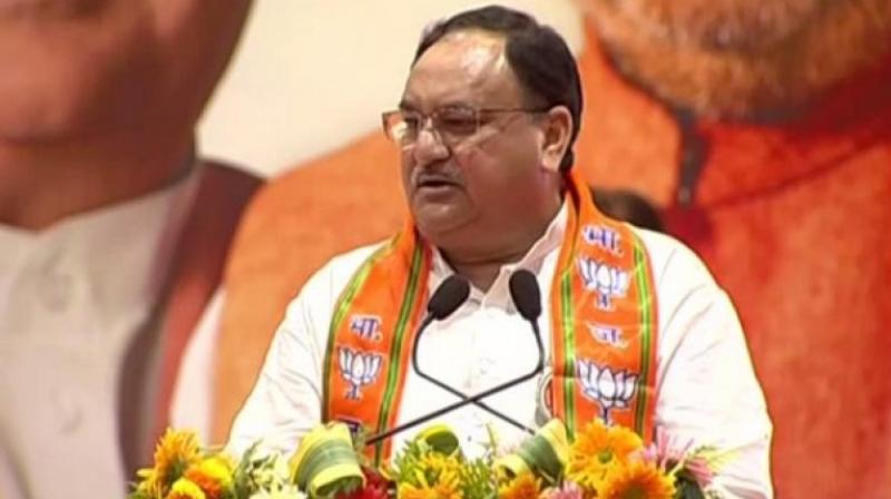 Nadda welcomed people who are willing to join the BJP and signed on their membership forms. (Photo: File)