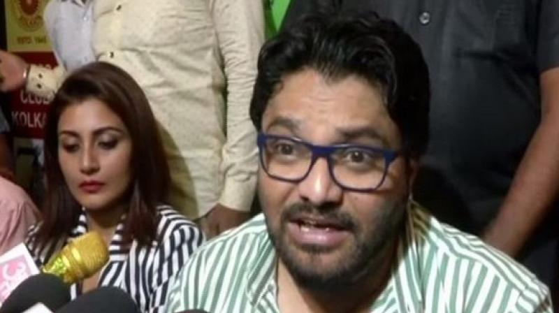 Supriyo is known to constantly clash with West Bengal Chief Minister Mamata Banerjee, most recently on the issues of NRC and security in Visva Bharti University. (Photo: ANI)