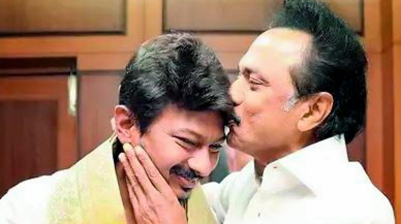 Tamil Nadu's major opposition Dravida Munnetra Kazhagam's (DMK) has elevated party president M.K. Stalin's son Udhayanidhi Stalin,  who is also a film producer and actor, as the new youth wing secretary and his successor.
