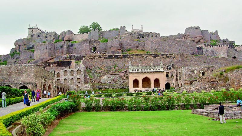 An officer with the Archaeological Survey of India told this newspaper that the upkeep of the Golconda fort received a fillip after TS government held the flag-hoisting ceremony for Independence Day there.