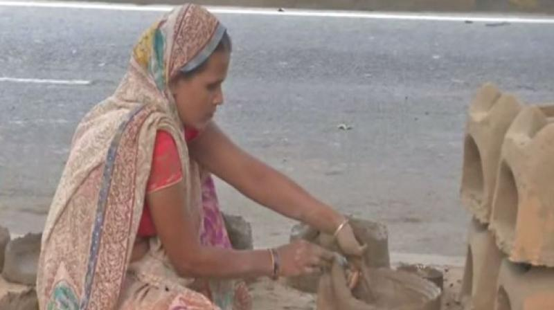 This year, Chhath Puja will be celebrated from the evening of November 13 till the morning of November 14. (Photo: ANI)