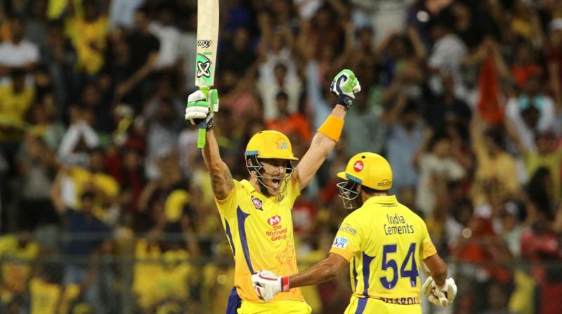 Chennai Super Kings in seventh IPL final
