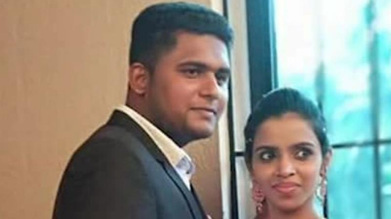 The couple got married at a local office of the state registration department on October 19. (Photo: ANI | Twitter)