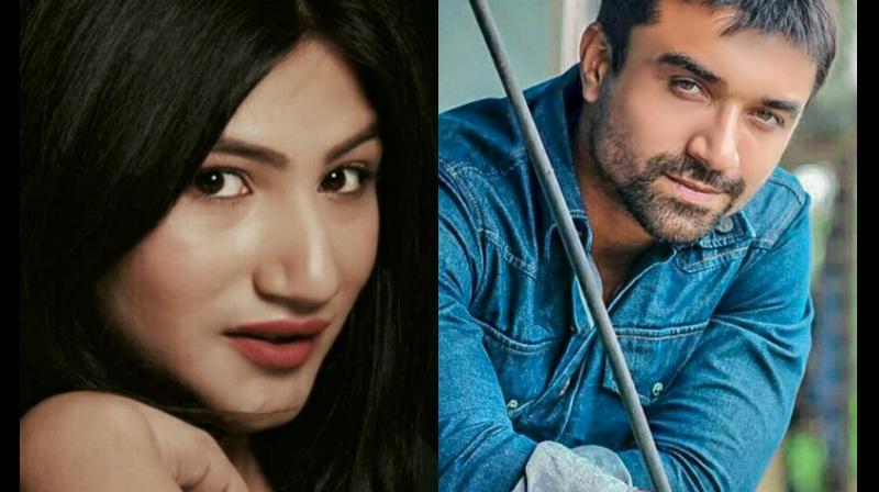 Mahika Sharma and Ajaz Khan.