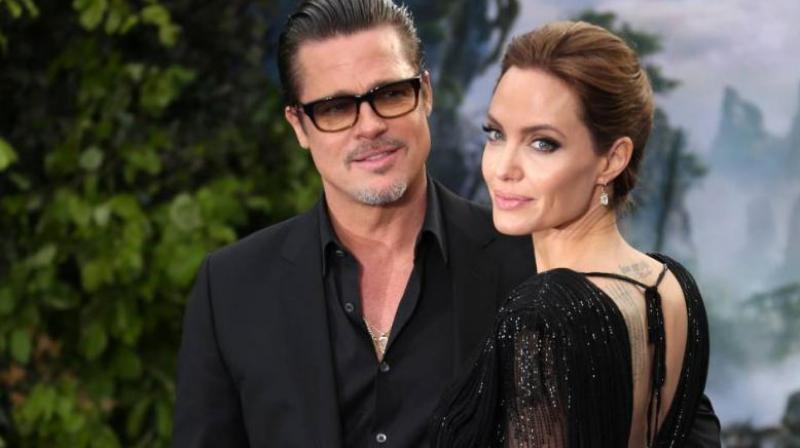 Jolie filed for divorce from Pitt on September 19. (Photo: AP)