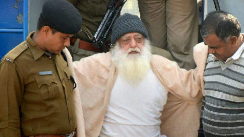 Godman's daughter parts ways with rape convict Asaram