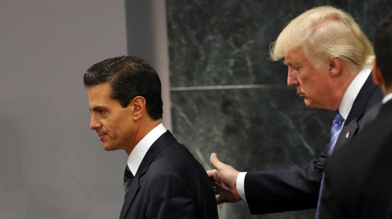 Mexican President Enrique Pena Nieto and US President Donald Trump. (Photo: AP/File)