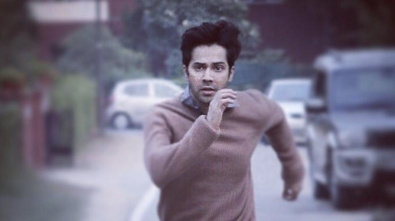 Varun Dhawan in 'October.'