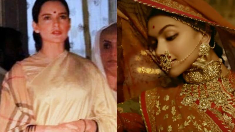 Kangana Ranaut and Deepika Padukone