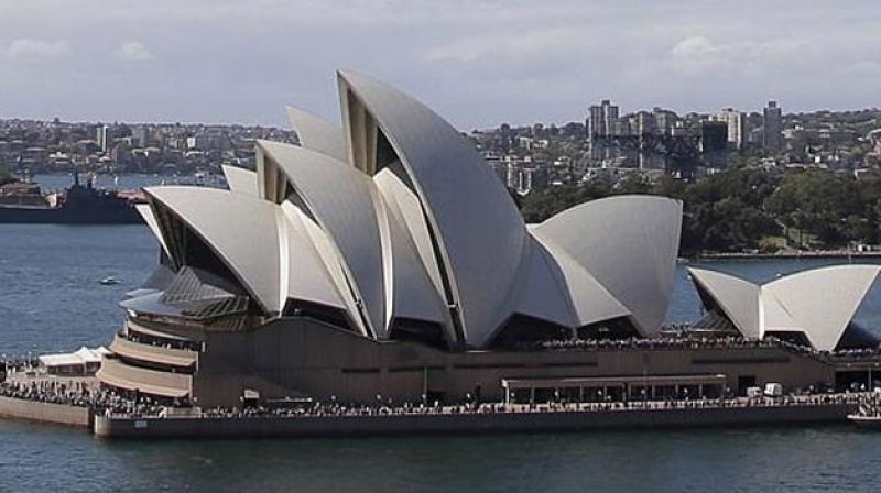 New South Wales Premier Mike Baird is set to visit the Opera House next Friday night to witness the colour change on Diwali. (Photo: AP)