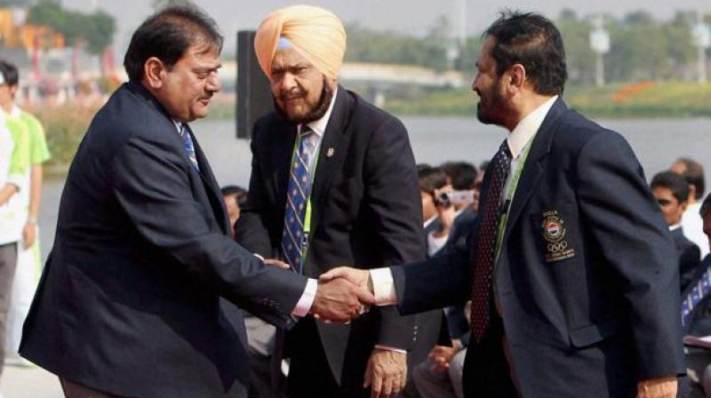 Scam-tainted Suresh Kalmadi and Abhay Chautala were elevated to life president position by IOA. (Photo: PTI)