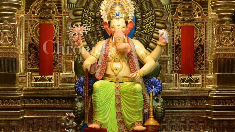 From traditional idols to ones made with paper, images from across states as country gears up to celebrate birth of elephant-headed god. The rituals take place through 10 days, with modaks being offered to Lord Ganesha and later devoured by the devotees. (Photo: Rajesh Jadhav)