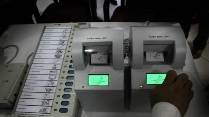 Barring minor incidents of violence at a few of places and voting machine glitches, polling was peaceful. (File/ Representation image)