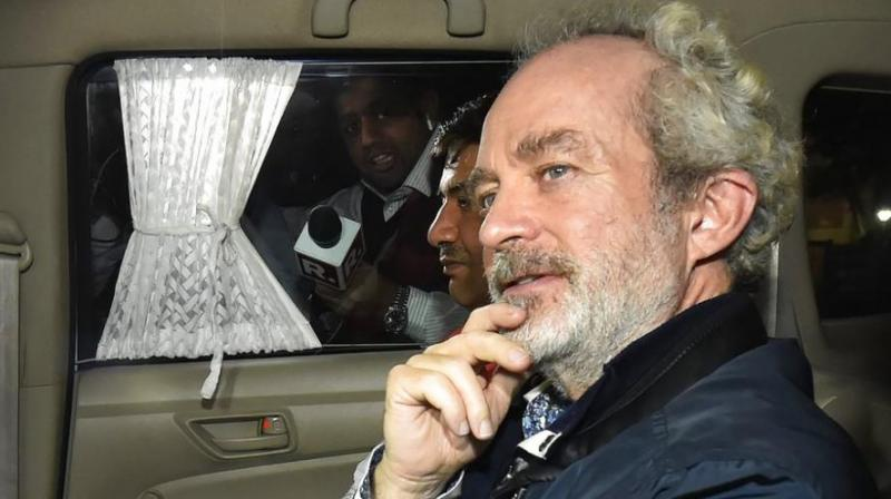 The Delhi High Court on Monday granted more time to Central Bureau of Investigation (CBI) and AgustaWestland accused Christian Michel's lawyer to respond to the plea regarding phone calls being made by Michel. (Photo: File)