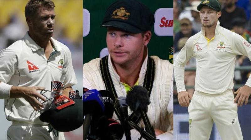 No Cricket Australia contracts for Steve Smith, David Warner & Cameron Bancroft