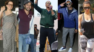 Bollywood stars were spotted at various events and locations in Mumbai and New Delhi on Monday. (Photo: Viral Bhayani)