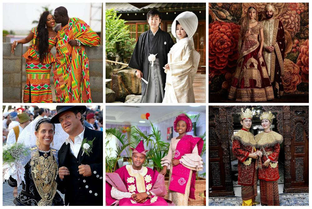 Lucky Wedding Traditions From Around The World: Take A Look At Traditional Wedding Outfits From Around The