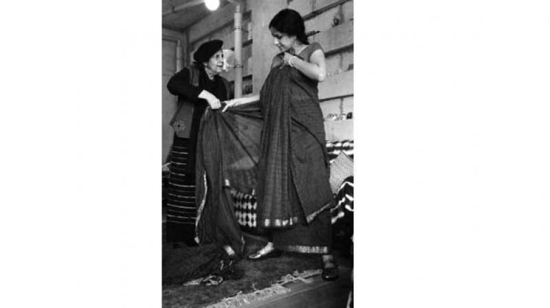 The sari will survive as special occasion wear Indian women today prefer stitched garments and western wear of easy-to- maintain wash-and-wear fabrics.