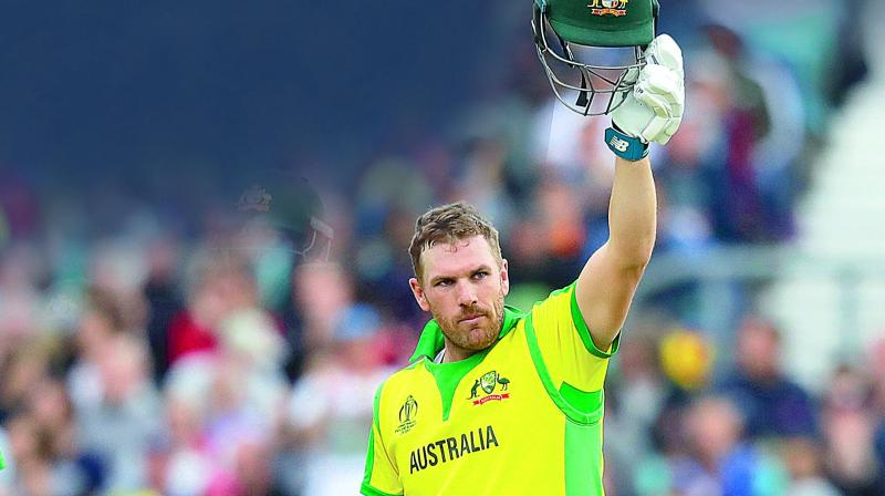 Finch also admitted that they are 'improving nicely' as they have been playing good cricket with both bat and ball. (Photo: File)