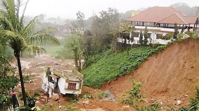 When the landslide happened in  August last, the government soon recovered from its state of shock and started relief work by setting up camps and collecting data on loss of property.
