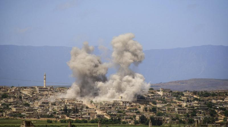 Over 170 civilians have lost their lives in Idlib since April 25. The province is home to about three million people. (Photo: AP)