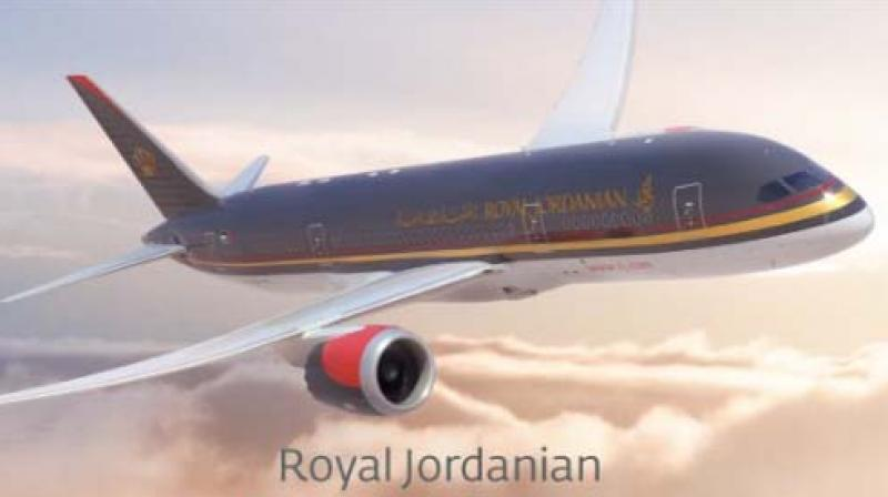 Royal Jordanian flies to New York, Chicago and Detroit. (Photo: Twitter)