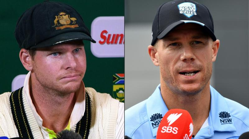 Smith and Warner were handed year-long bans by CA for their role in the infamous ball-tampering scandal in South Africa in March. (Photo: AFP)