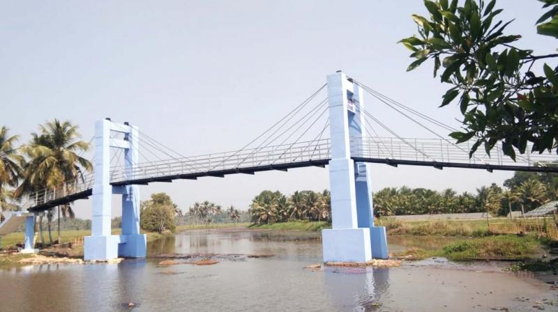 The first suspension bridge at Kadambrayar was built at a cost of Rs 90 lakh back in 2010 and a walkway extending to nearly a kilometer set up thereafter.
