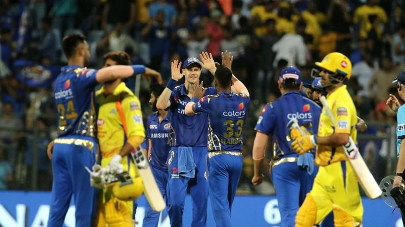 With this victory, Mumbai Indians registered their 100th victory in the IPL and became the first franchise to do so. (Photo: BCCI)