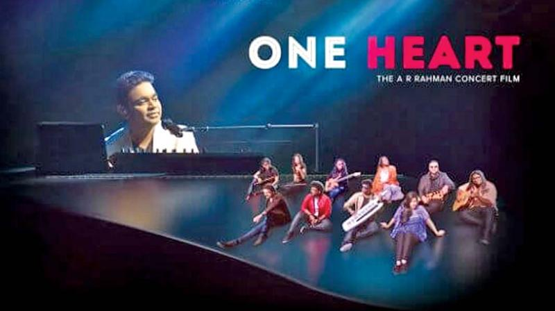 AR Rahman's concert flick One Heart.
