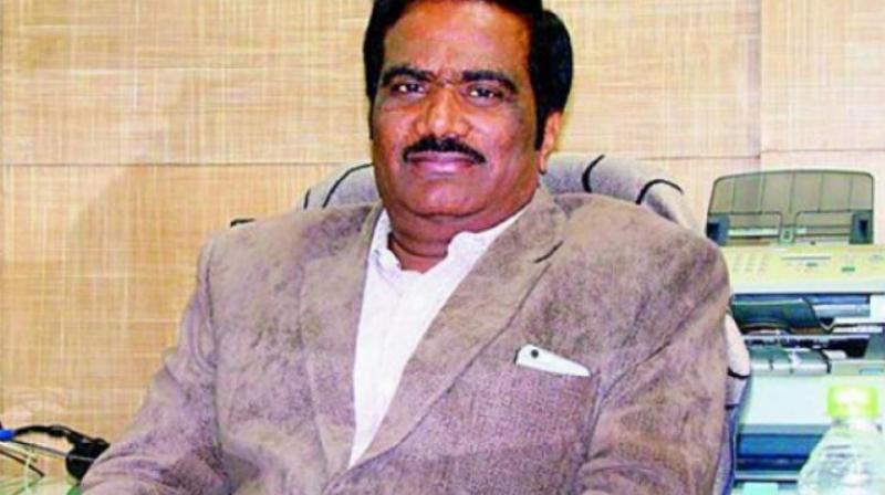 University of Hyderabad vice-chancellor Prof. Appa Rao Podile