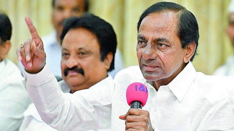 K. Chandrasekhar Rao.