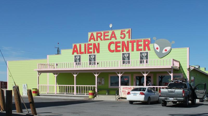 Area 51 is commonly believed to be a research facility where the American government is rumored to be studying creatures from outer space.(Photo: Representational/Pixabay)