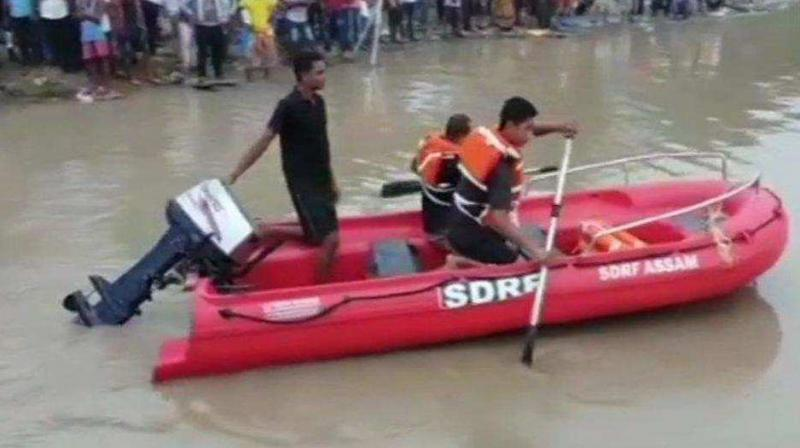 Assam is facing severe floods in which three people have reportedly died. (Photo: Representative image)