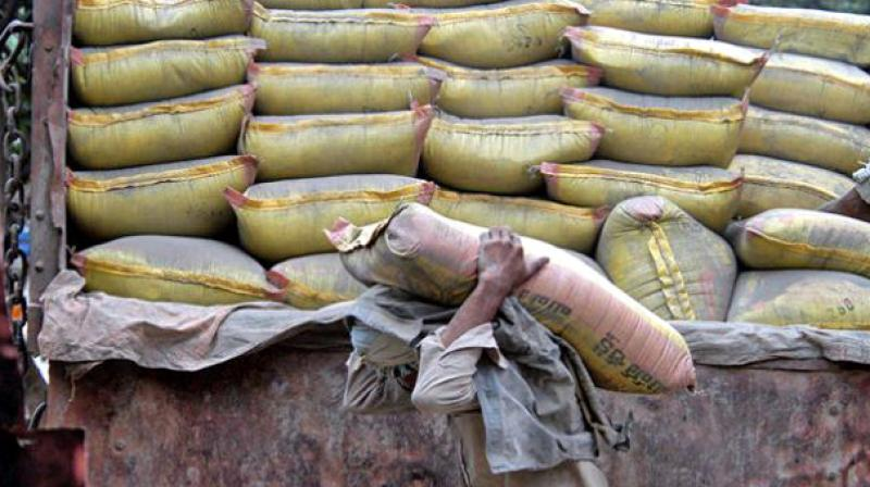 The cement industry is likely to register a flat growth of around 5 per cent in the current financial year.