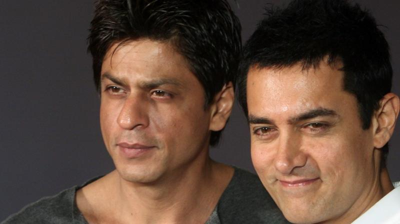 Aamir and Shah Rukh's selfie together few months ago had gone viral immediately.